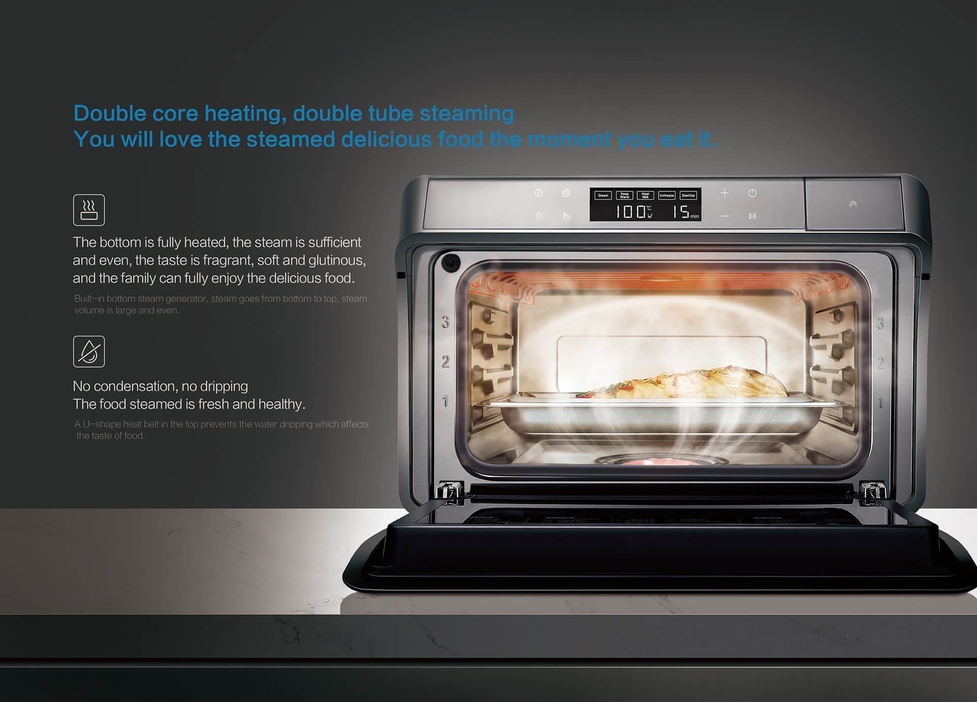 healthier: there is no microwave light wave, pregnant women and children can also contact