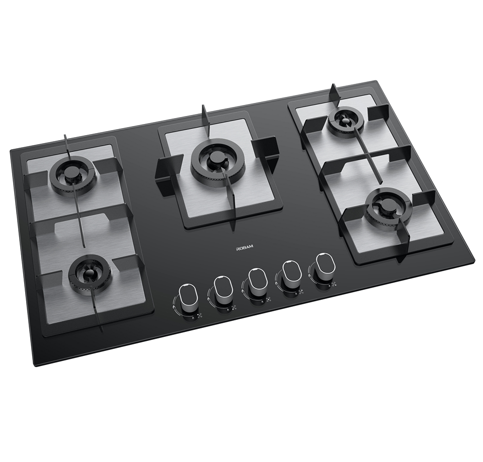 Good quality 3 Burner Gas Stove With Induction - I-Flame Series JZ(T/Y)-B582 – ROBAM